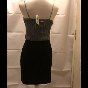 Sweet Storm Dresses - NWT Sweet Storm Silver sparkle and black dress
